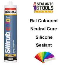 Soudal Color Ral Colour Coloured Silicone Sealant Ral 7024