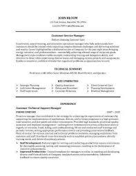 Customer Service Manager Resume Sample Resume Pinterest