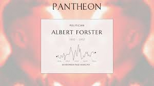 Albert Forster Biography - Gauleiter of Danzig during WW2 executed for war  crimes.   Pantheon