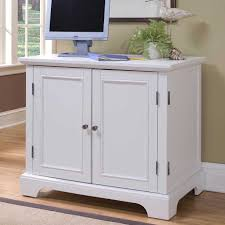 home styles naples compact office cabinet white finish