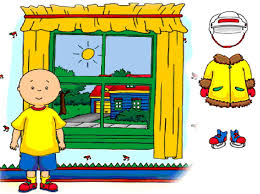 dress caillou game