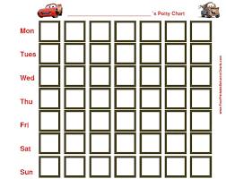 Free Printable Cars Potty Training Chart Pin By Tracy Shawn On Potty Training Potty Training