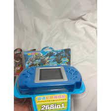 Máy chơi game thế hệ 8x 9x trò chơi cổ điển cho bé giải trí gồm 267 trò có  sẵn