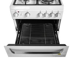 Freestanding Gas Stove Haier Hor54b5mgw1 54cm Freestanding Dual Fuel Oven Stove