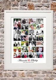 Collage Design On Wall Signature Memory Collage Wedding Design Photo Wall Collage