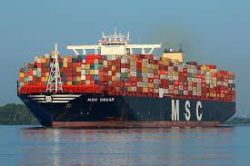 The macedonian sun ist ein containerschiff mit lizenz für den pier 23 nord am hafen von new york und new jersey. Hafen Hamburg Msc Oscar Imo9703291 Containerschiff