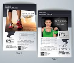 Fitness Flyer Templates Yourweek Ca08Cfeca25E Personal Training ...