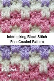 Block Stitch Crochet Pattern Custom Design Inspiration