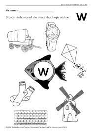 Children should understand letter identification to move on to sound/symbol relationships. Letter W Phonics Activities And Printable Teaching Resources Sparklebox