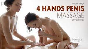 4 Hands Penis Massage Hegre