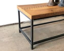 Industrial Coffee Table / Industrial Reclaimed Wood And Metal Coffee Table Nice Design
