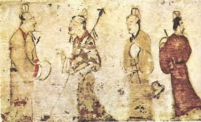 gentlemen in conversation eastern han dynasty history of painting wikipedia the free