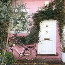 28 Amazing Cottage pink door images in 2019