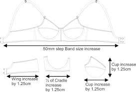 Bra Grading Charts How To Make A Bra 1 Foundations Revealed