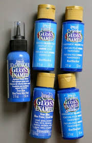 learn what glass paint to use when painting on glass with american gloss enamels paints