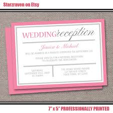 pink reception only invitations modern pink and gray design Wedding Reception Only Invitations pink reception only invitations modern pink and gray design post wedding reception printed invitations wedding reception only invitations wording