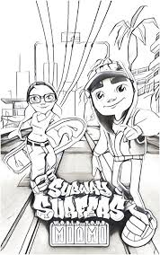 20 Subway Surfers Coloring Pages Ideas And Designs