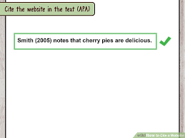 apa website citation format how to cite a website with sample citations wikihow
