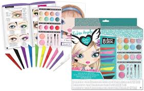 art stationery sets fashion angels make up artist sketch set