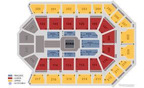 Rabobank Arena Seating Chart