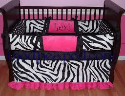 red and black nursery bedding