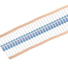 <b>30 pcs</b> Metal Film Resistors 0.62 Ohm <b>1W</b> 1% Tolerances 5 Color ...