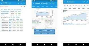 Stock Quote Apps Inspiration Best Stock Market Quote Apps For Android Android Central