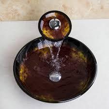Bathroom Sinks Bowls Popular Glass Bathroom Sink Bowls Buy Cheap Glass Bathroom Sink