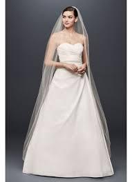 taffeta a line wedding dress with sweetheart neck david s bridal