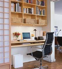 small room office design. Enchanting Light Brown Shelves With A Black Arm Chair Decorating Small Office Room Design Style Ideas G