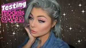 testing models own makeup