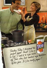 gender stereotypes jholland530 the ad is for paper towels a product that is generally used as a cleaning supply