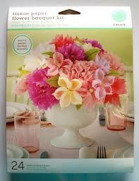 Paper Flower Kit Martha Stewart Tissue Paper Flower Bouquet Kit Craft Critique