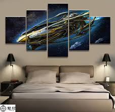 Home Decor <b>Modular Canvas Picture</b> 5 Piece StarCraft Game ...