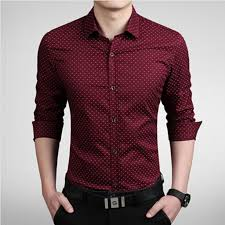 <b>2019 New Men's Shirts</b> men Casual slim fit designer Print Camisa ...