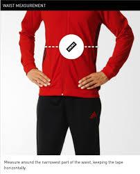 Adidas Men S Size Chart Pants Size Chart Adidas