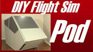 diy flight sim pod