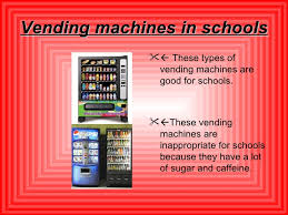 Vending Machines And Obesity Stunning Obesity And Overweight