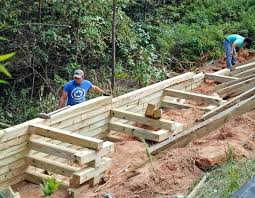wood retaining wall timber retaining wall wood retaining wall cost