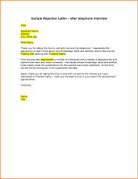 Easy Application Regret Letter Sample With Sample Follow Up Letter
