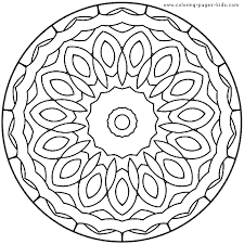 Small Picture Free Printable Mandala Coloring Pages Kids Mandalas coloring