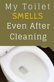 bathroom smells. my toilet smells even after cleaning bathroom