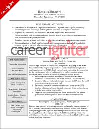 Attorney Resume Sample