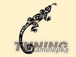 Tetování Ještěrka 48 Samolepka Zvířata Tsdesign Sro