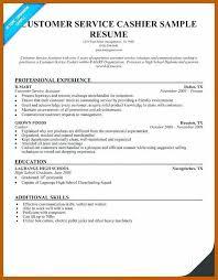 8 9 Retail Cashier Resume Resumesheets