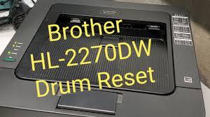 Hl 2230 Toner Light How To Reset Drum On Brother Hl 2270dw Printer Hl 2220 Hl 2230 Hl 2240