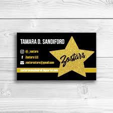 Zo Stars Business Card Mockup Jpg