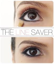 makeup quick tip how to prevent your eyeliner from running