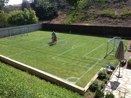 Soccer Goal  Iu0027d Go With Cheaper Netting Since My Kid Is Not A Soccer Goals Backyard