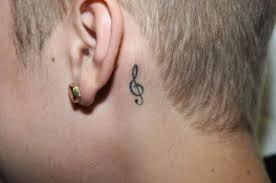 тату за ухом татуировки 41 фото